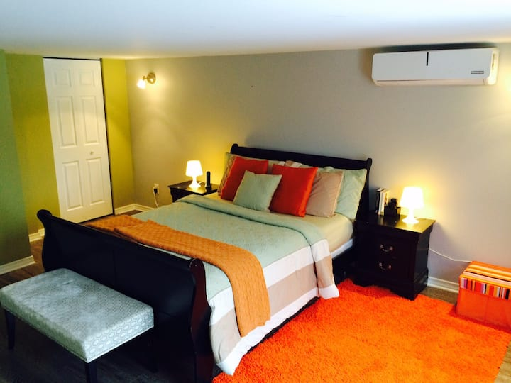 Charming & Cozy stay near Montreal