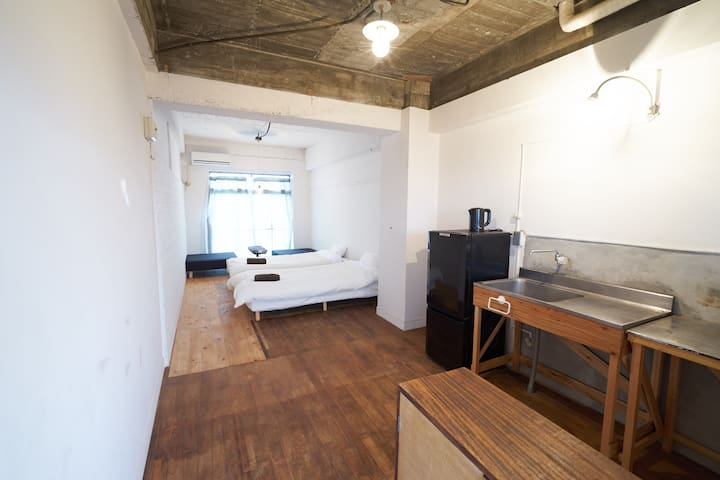 Good access to Naoshima, (S)bed for2-3guest #C - Tamano-shi - Apartment