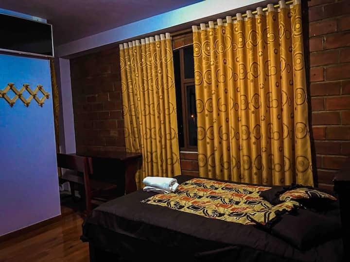 Hostal, habitaciones en ambiente de tranquilidad