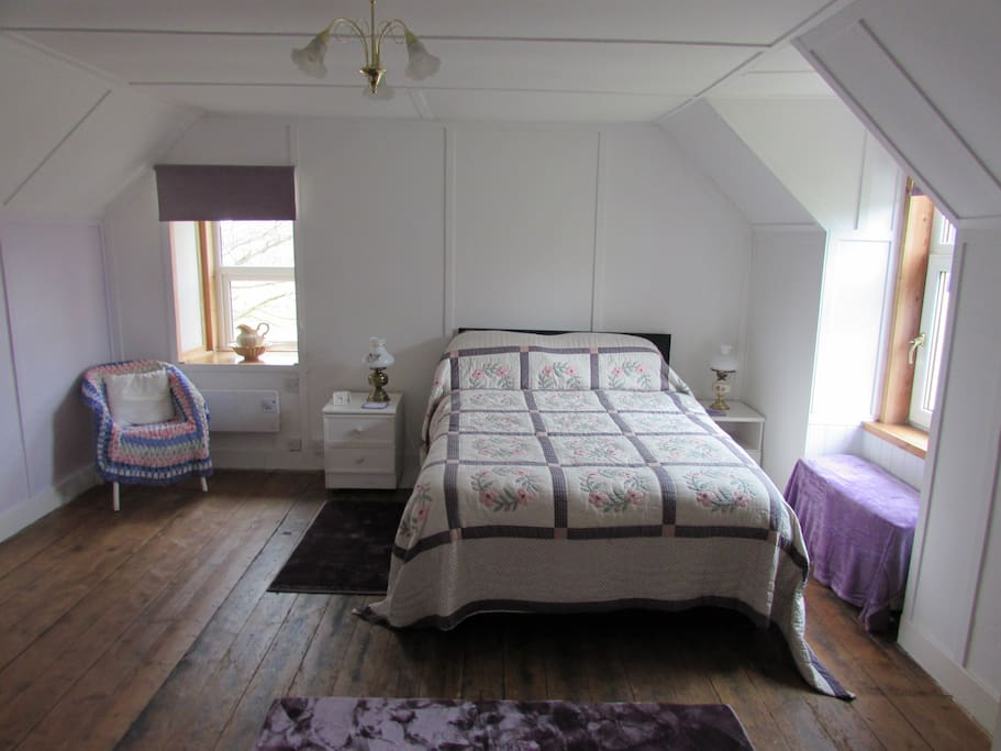 Master Bedroom in the cottage