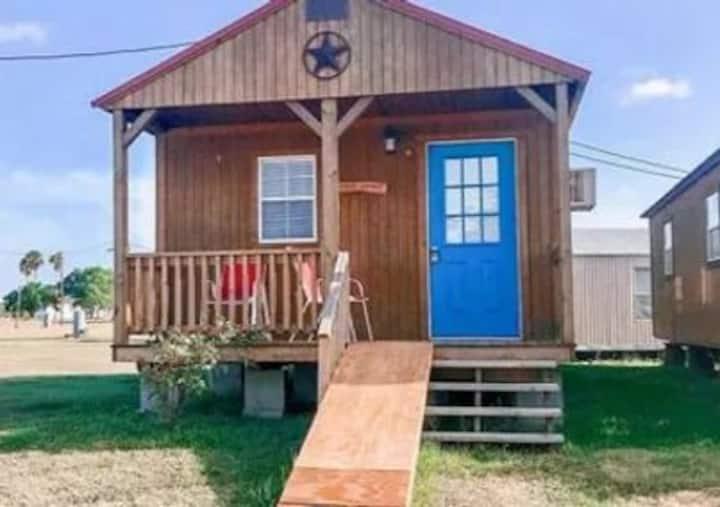 Private One Bedroom Cabin sleeps  8