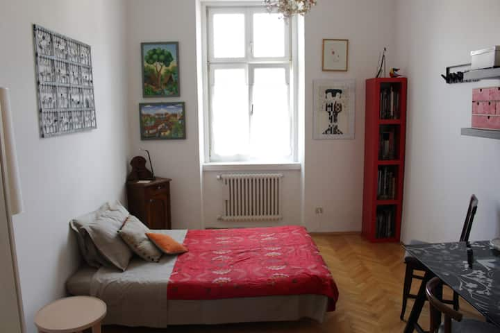 BOLZANO - Well-lit, spacious room in town's center