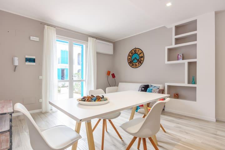 Residence Cala Azzurra Apartment 9 - Macari - Appartement