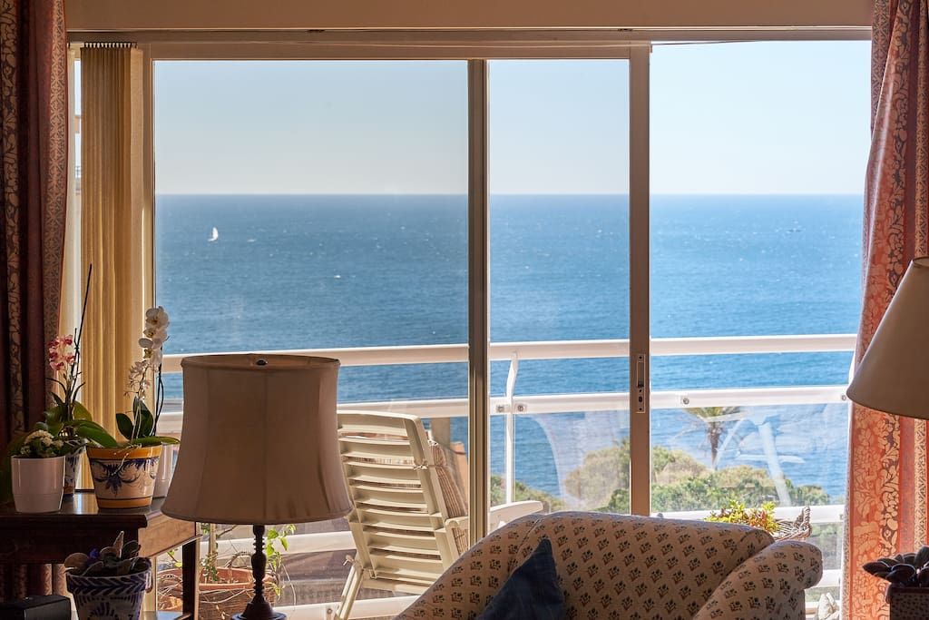 Sea View Terrace Off Living Room