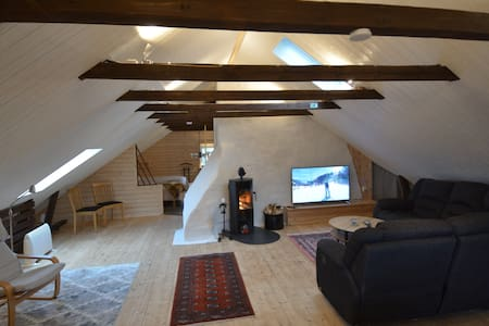 Charming brand new attic appartment