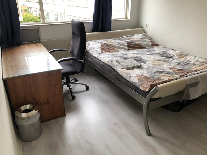 Spacious Room Near Amsterdam CS!
