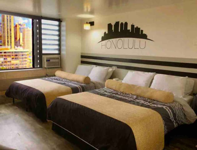 ~RareLayout*2Qn Beds*Great for Groups,Friends,Fams