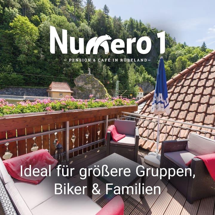 Numero1-Pension und Cafe, Höhlenort Rübeland(Harz)