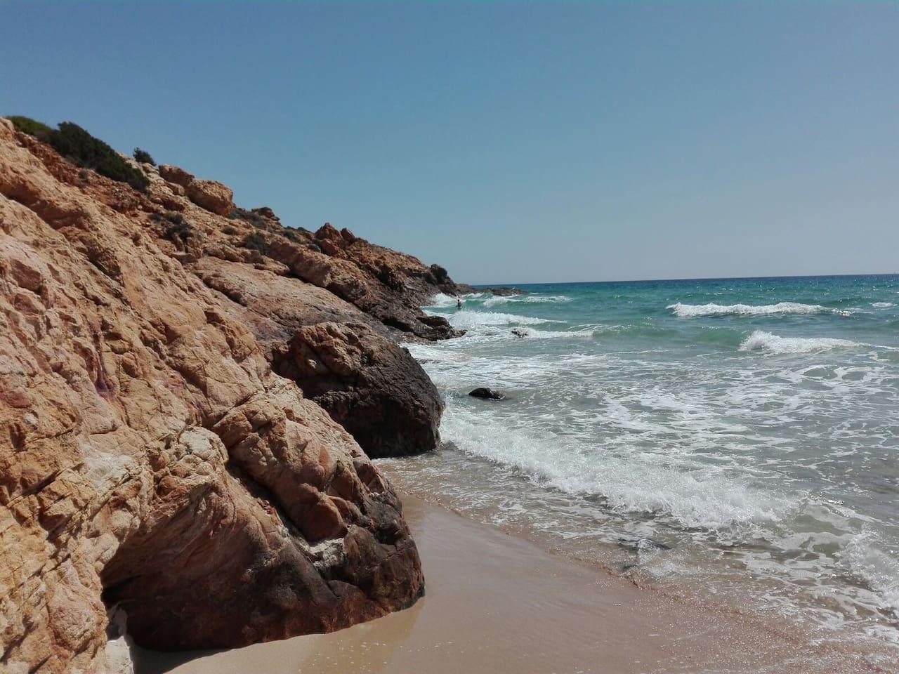 Pinus Village Beach - 20m from home