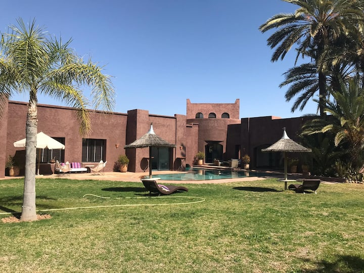 Superb Villa with Private Pool and Garden