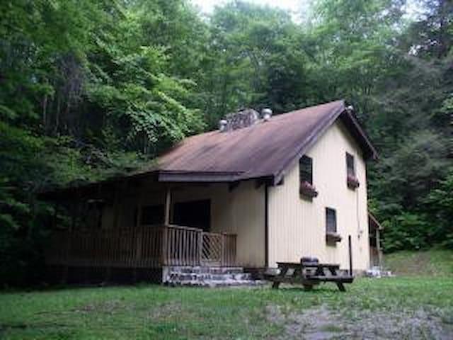 The Nantahala Mountain House Cabin