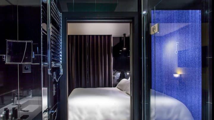 Retro & Chic room with terrasse near Trocadero