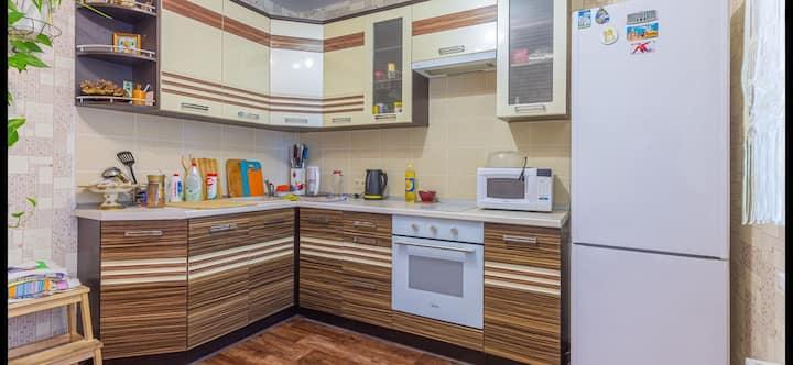 Уютная квартира в экологически чистом районе