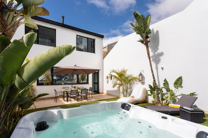 Villa & hot tub between Teide and South coast TFS