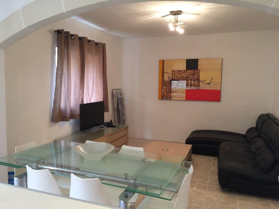 Living Room & T.V Room