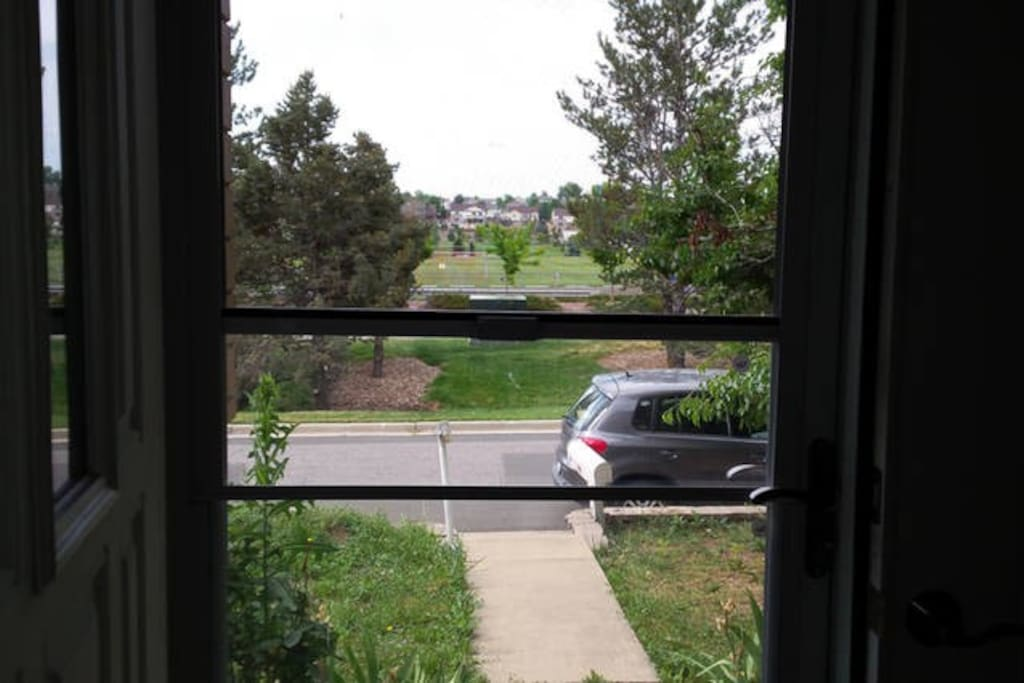 View from front door, room pictures soon