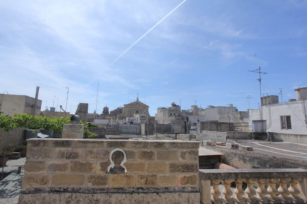 At the Ancient Centre of Rabat 3 mins away from the Gates of Mdina