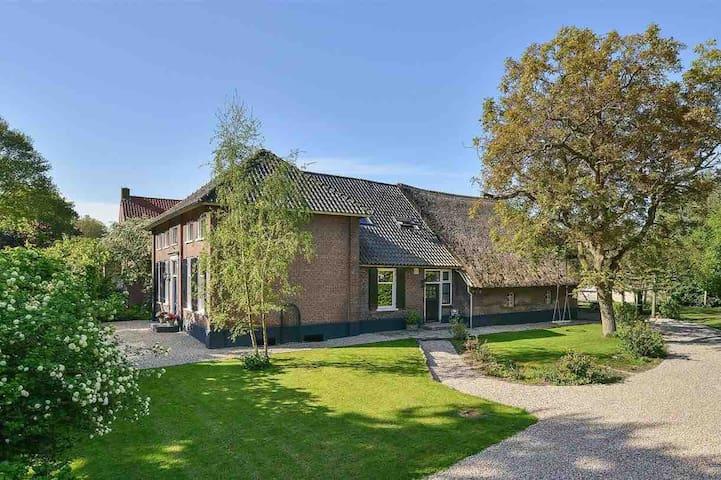 Cozy farmhouse between Utrecht and Den Bosch