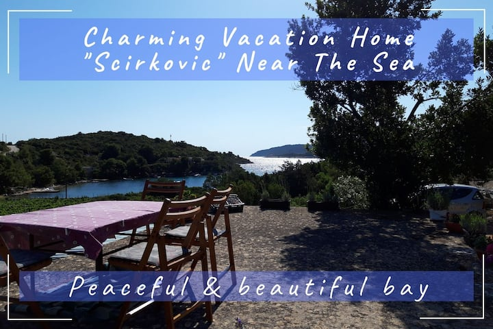 "Charming Vacation Home ""Scirkovic"" Near The Sea"