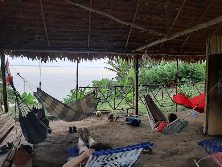casa mirador Rio amazonas
