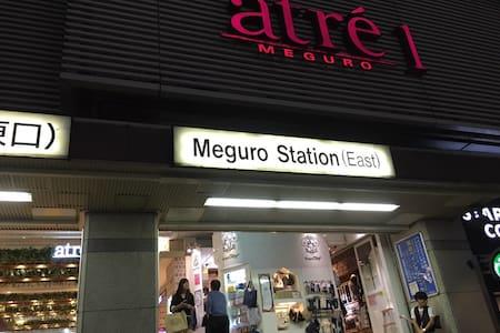 MAX3people 2bed,JR MEGURO 8min 渋谷可 - Синагава