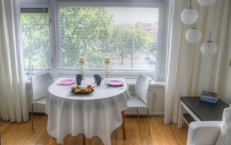 bedroom + living room close to Leidens city centre - Leiden - Huoneisto
