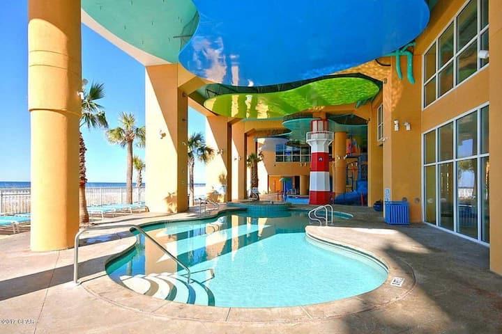 Beachfront Family Friendly Condo! Splash 1105