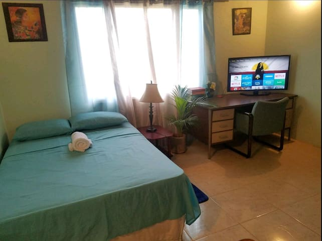 2 Bedroom Suite#Walk to Events,Local Food,near UWI