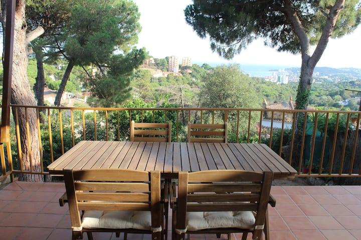 House in Platja d'Aro, Costa Brava, 6 guests,WIFI