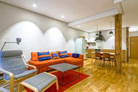 Best location. Calm & cozy. Renewed and FREE WIFI - Donostia - 公寓