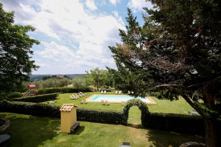 Chianti apartments with pool!