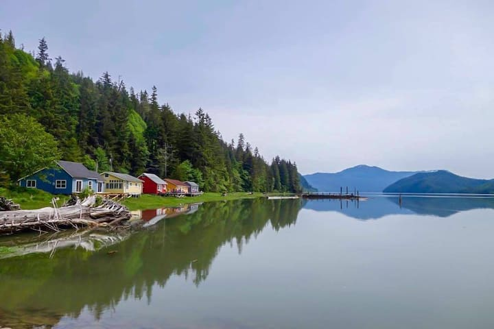 Cassiar Cannery~ Coho House ~ Funky 1BR waterfront
