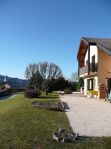 Chez Françoise,calme,confort et simplicité...... - Thorens-Glières - Dům