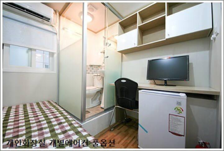 Happy-house single(Toilet & Shower,Jongno-3ga)