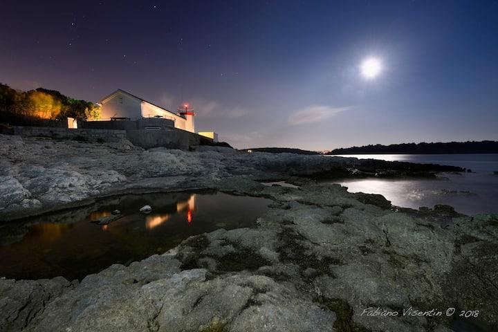 Beautiful lighthouse Verudica