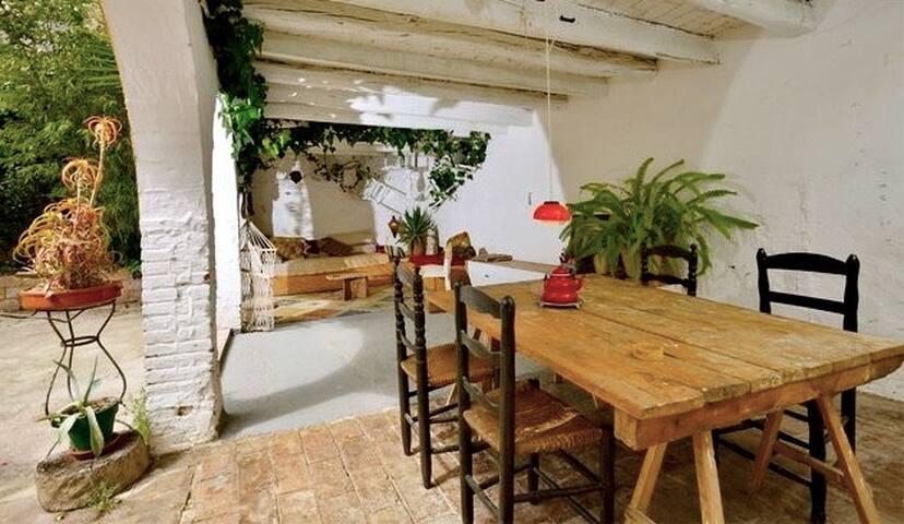 Bohemian 1850's house 50Km south of Barcelona