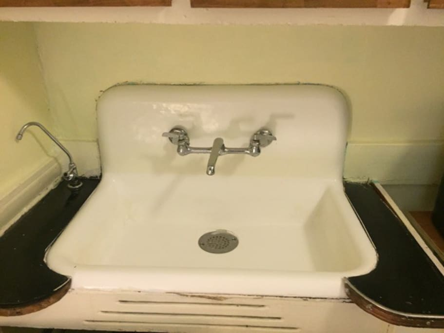 Century Old Kitchen Sink