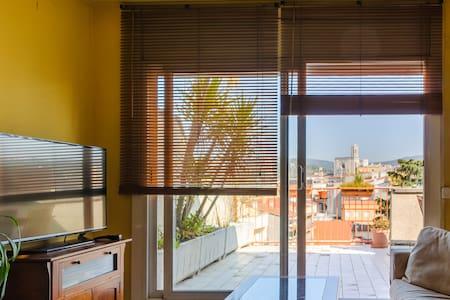 Atico Centro Girona - Girona - Apartment
