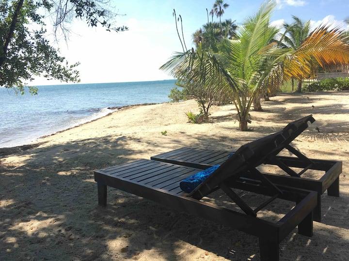 Modern BEACH CABANA in *QUIET* Plantation (N)