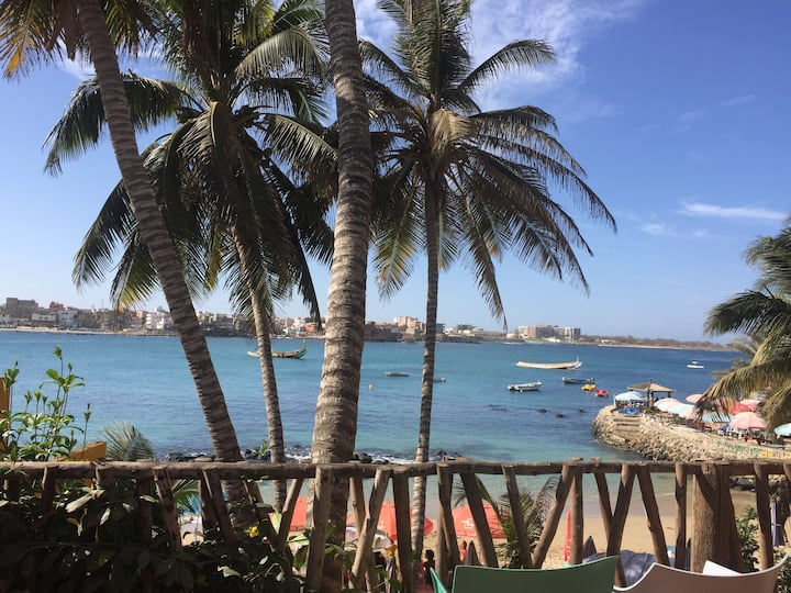 Maison de rêve sur l'île d'NGOR (Sénégal)