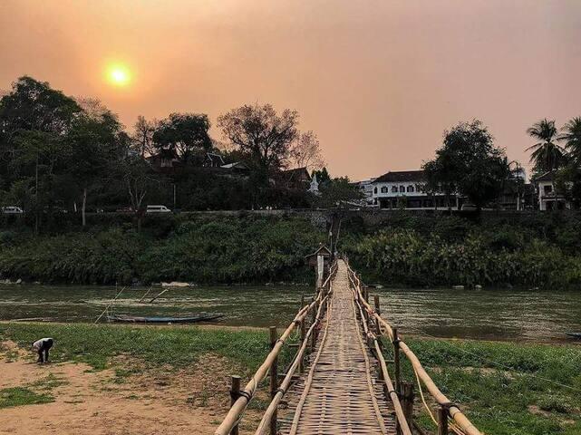 vue from Bambou bridge