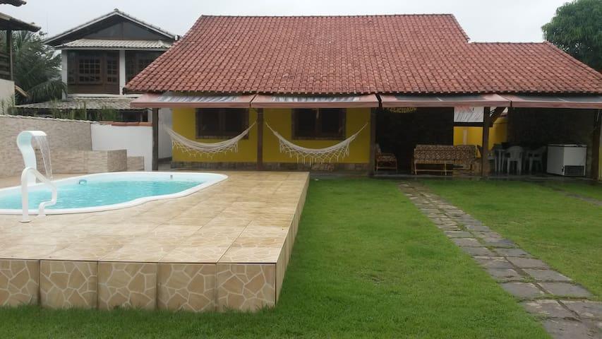 Casa com piscina em Garatucaia, Angra dos Reis!