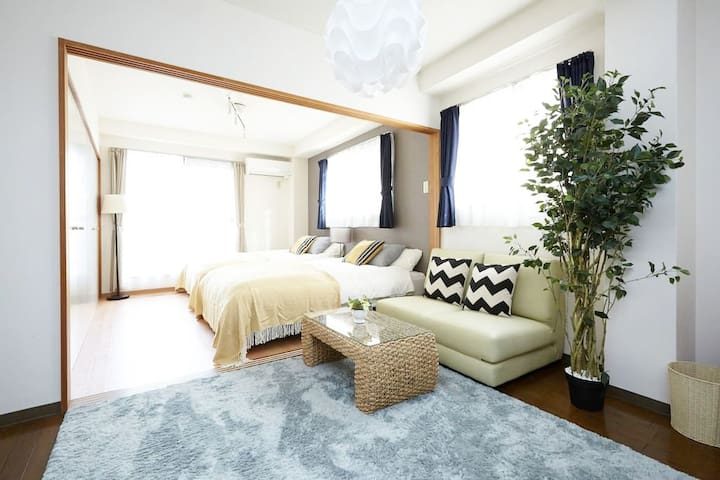 ★New Open★Luxury apt.10mins walk to Shinsaibashi - Nishi-ku, Ōsaka-shi - Apartamento