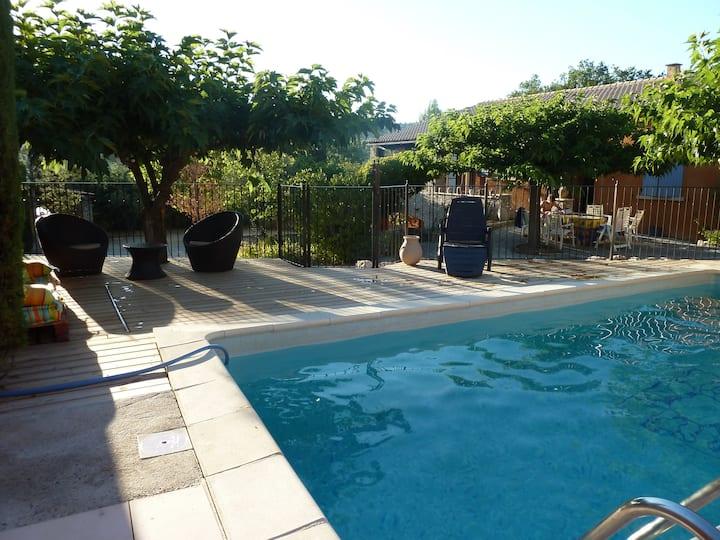 Villa  Provence piscine  Ventoux Avignon Luberon