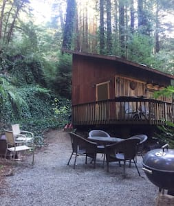 Cozy Cabin under the Redwoods - Carmel-by-the-Sea - 小木屋