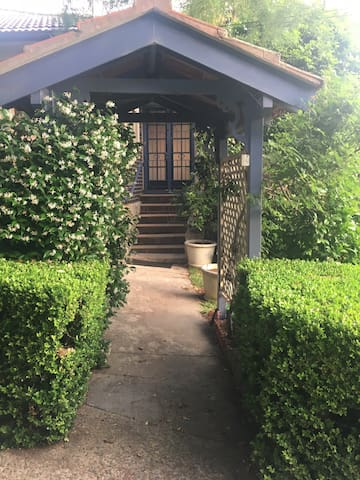 Your private entrance, complete with jasmine perfume