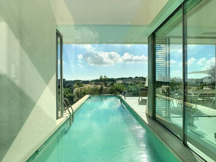 Villa de luxe avec piscine privée, communauté fermée