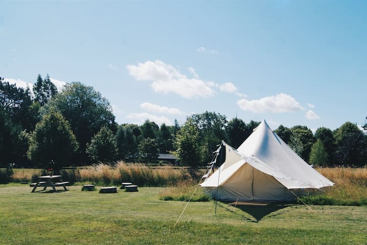 Ambers Bell Tents at Mannington Hall North Norfolk