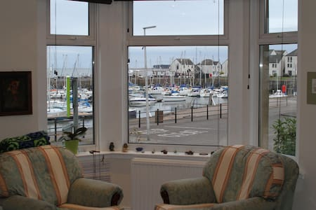 Quiet bedroom on the Harbour - Tayport - Daire