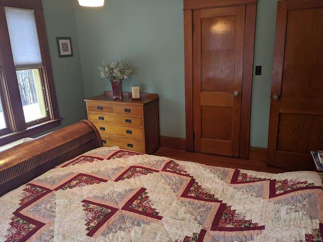Bedroom no. 2 with queen bed